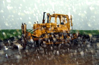 Work-site hazards are increased during and after a rainstorm.