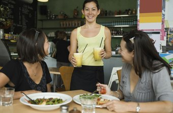 Restaurant workers must be able to communicate with customers to ensure accurate orders.