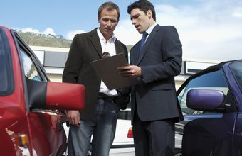 Automobile salesmen are often paid for the amount of profit they retain.