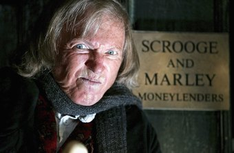 Famous fictional misanthrope Scrooge became rich as a money lender.