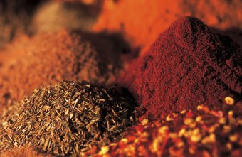 Curry powder is a blend of pungent spices.