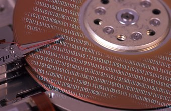 Hard disk drives store data through magnetized particles.
