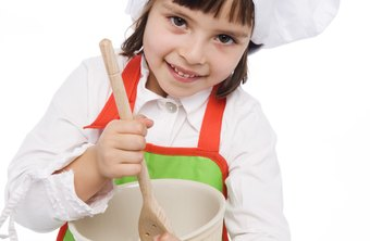 Teach children the joys of cooking.