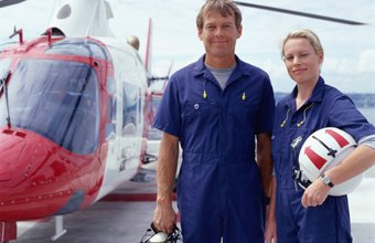 Flying an air ambulance can make for a rewarding career.