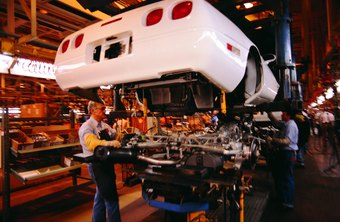 Lean production originated in the auto industry to address waste and efficiency.