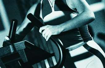 Putting too much of your weight on the arm rests can reduce the effectiveness of your stair-climbing workout.