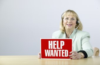 Staffing agencies fill in the gaps in a business's employment situation.
