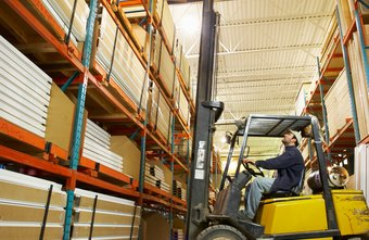 S corporation assets can include factory and warehouse equipment.