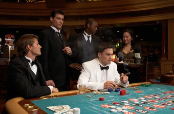 Pit clerks often oversee a number of tables in a casino.