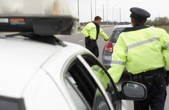 Many police officers spend a majority of their time enforcing traffic laws.