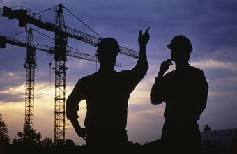 Project managers oversee construction projects from start to finish.