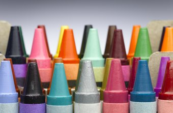 Solid ink sticks are similar to crayons.