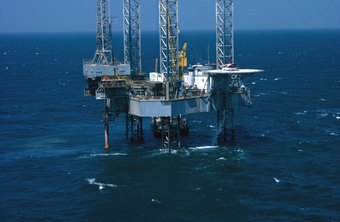 Oil rigs are often built in isolated locations.