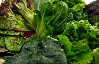 Look to dark green vegetables for your roughage.