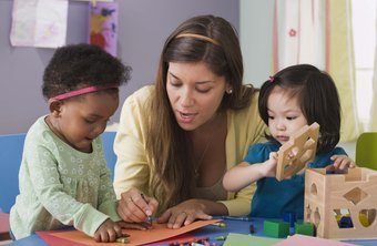 Child care jobs often require creativity that matches a child's imagination.
