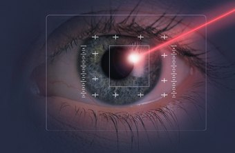 Lasers are used for a number of modern eye surgeries.