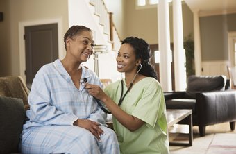 Many LVNs provide home health care.