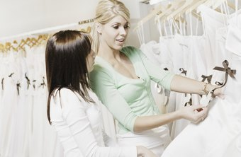 Wedding salons typically offer alterations and customization.