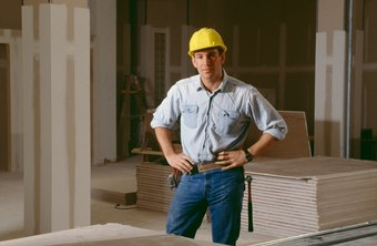 A larger contractor must show its minority stake in a drywall contractor.