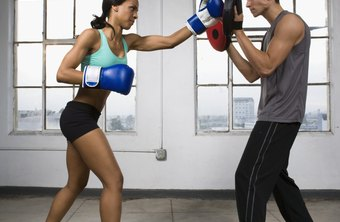 Boxing drills can help you lose weight and build your muscles.