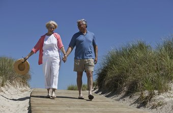 Walking can be time spent with a loved one.