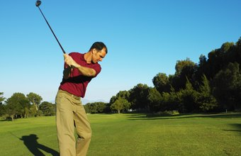 A correct downswing starts with a good backswing.