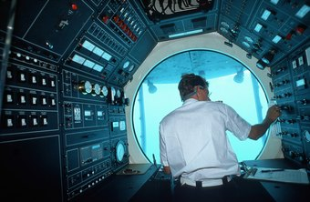 A submarine is a high-tech working environment.