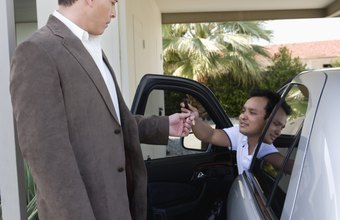 Valet attendants are the first people on staff to greet customers.