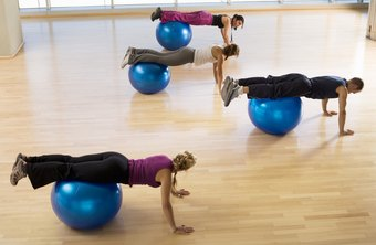 Exercises on a stability ball can strengthen your TVA.
