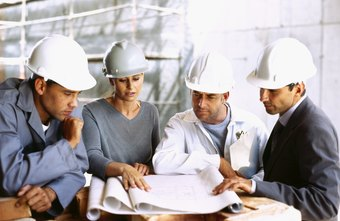 Some construction secretaries work on site assisting project managers.