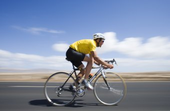 Bikers develop strong calf muscles.
