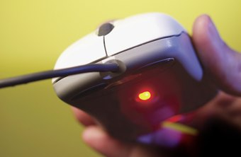 A laser mouse works well on virtually all flat surfaces.