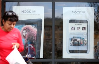 The NOOK makes playlists from your transferred music files.