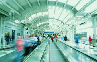 An airport's marketing team develops specific objectives to grow passenger traffic.