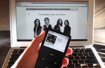 Transferring music from a CD to an iPod is streamlined through iTunes.