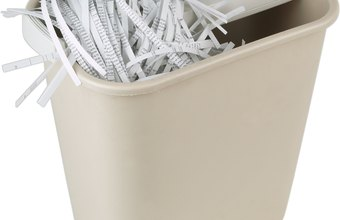 Businesses and consumers use shredders to destroy sensitive documents.