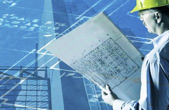 Engineers interpret blueprints for planning purposes.