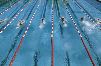 Champion sprint athletes use open fingers when swimming.