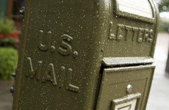 Business letters are usually sent via the U.S. Postal Service.