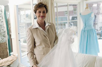 A trade show exposes your bridal shop to new customers.