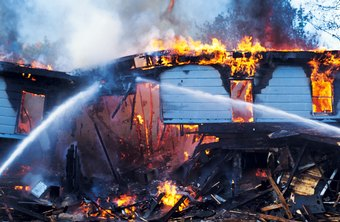 Uninsured losses from business fires might be tax-deductible.