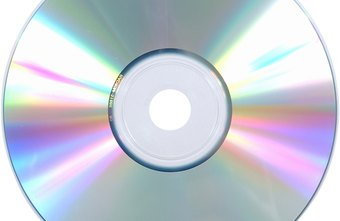 An optical disk can be made into an ISO image, a single file stored on the computer.