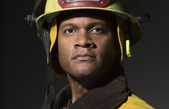 Firefighters require fire-resistant helmets to protect their heads in high temperatures.