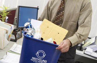 KPIs can help increase the recycling of office waste.