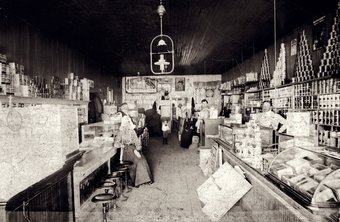 Old-fashioned general stores often carry both modern and vintage merchandise.