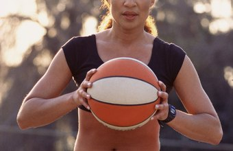 Basketball is a great way to lose weight and get in shape.