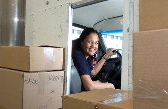 Courier service drivers earned average incomes slightly above $33,000 per year.
