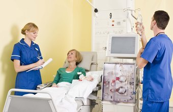 Nephrology nurses often perform dialysis.