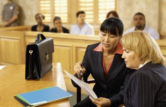 Many paralegals specialize in trial preparation and other court procedures.