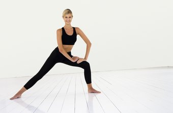 The lateral lunge develops your glutes, quadriceps and calves.